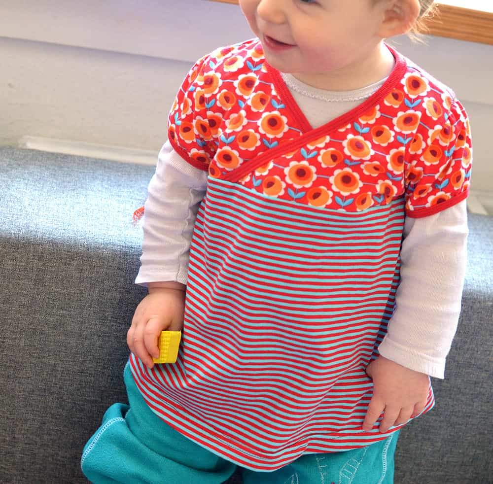 Schnittmuster Kleinkind-Tunika aus jersey