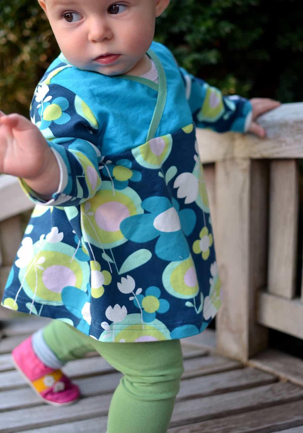 Tunika für Kleinkinder nähen