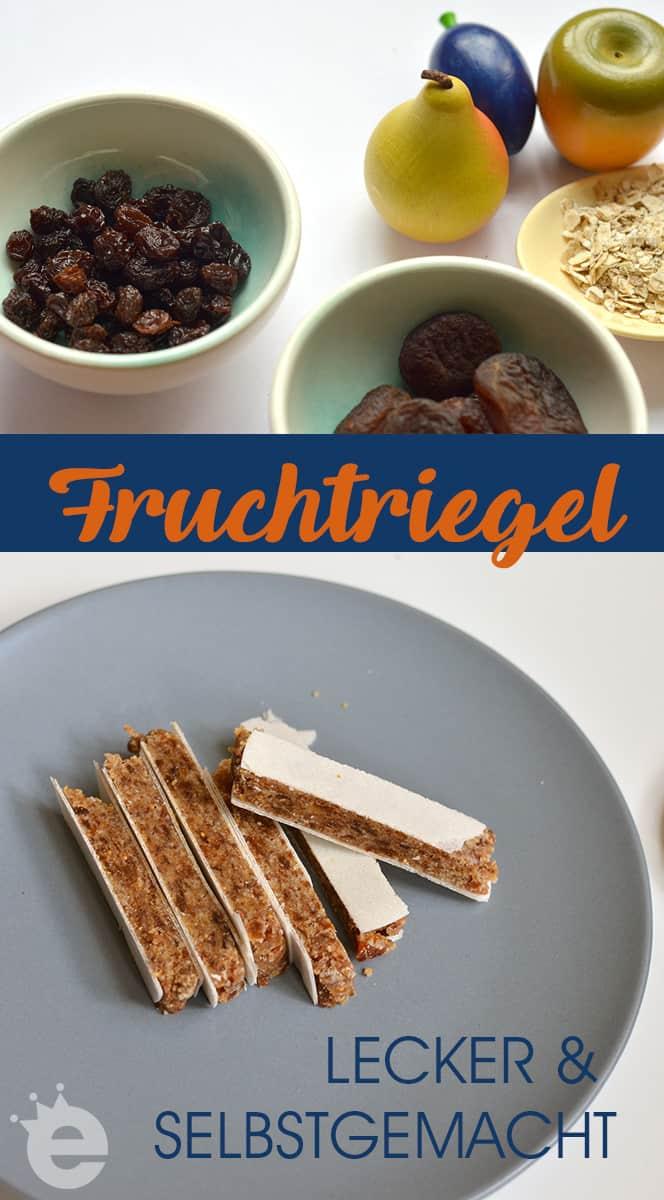 Rezept für leckere Fruchtriegel aus Trockenobst