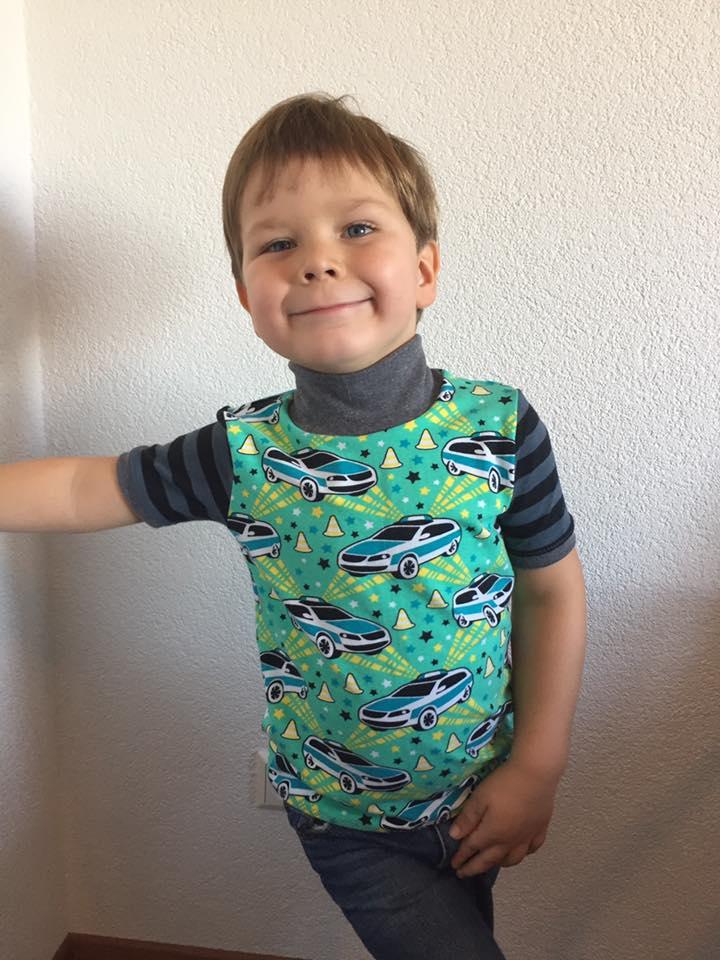 Schnittmuster für warme kinderunterwäsche: Lange Unterhose und Rollkragenpulli