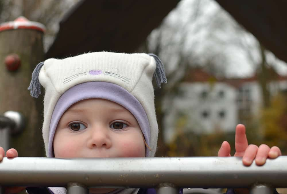 Katzenmütze, Wintermütze für kleine Kinder nähen. Schnittmuster Schalmütze bzw. Schlupfmütze mit Ohren