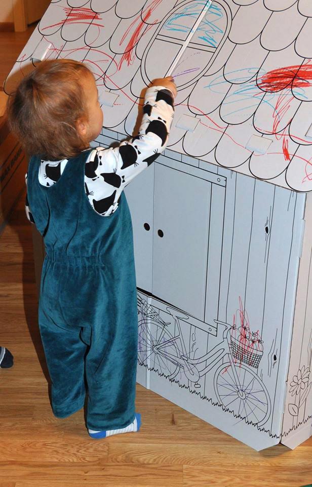 Spielhose für Kleinkinder aus Nicky nähen