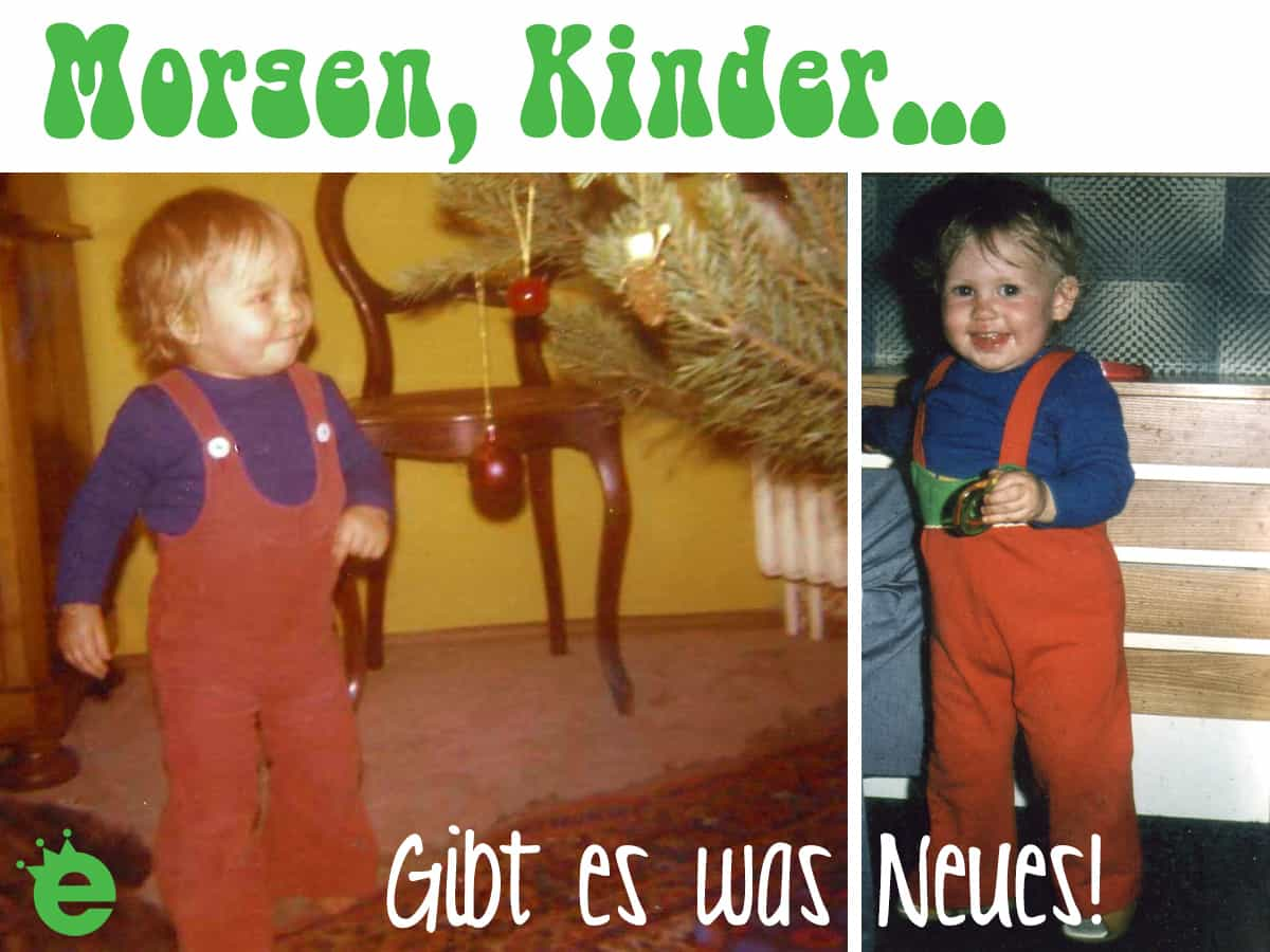 Kleinkinder-Hosen im 70er Jahre stil
