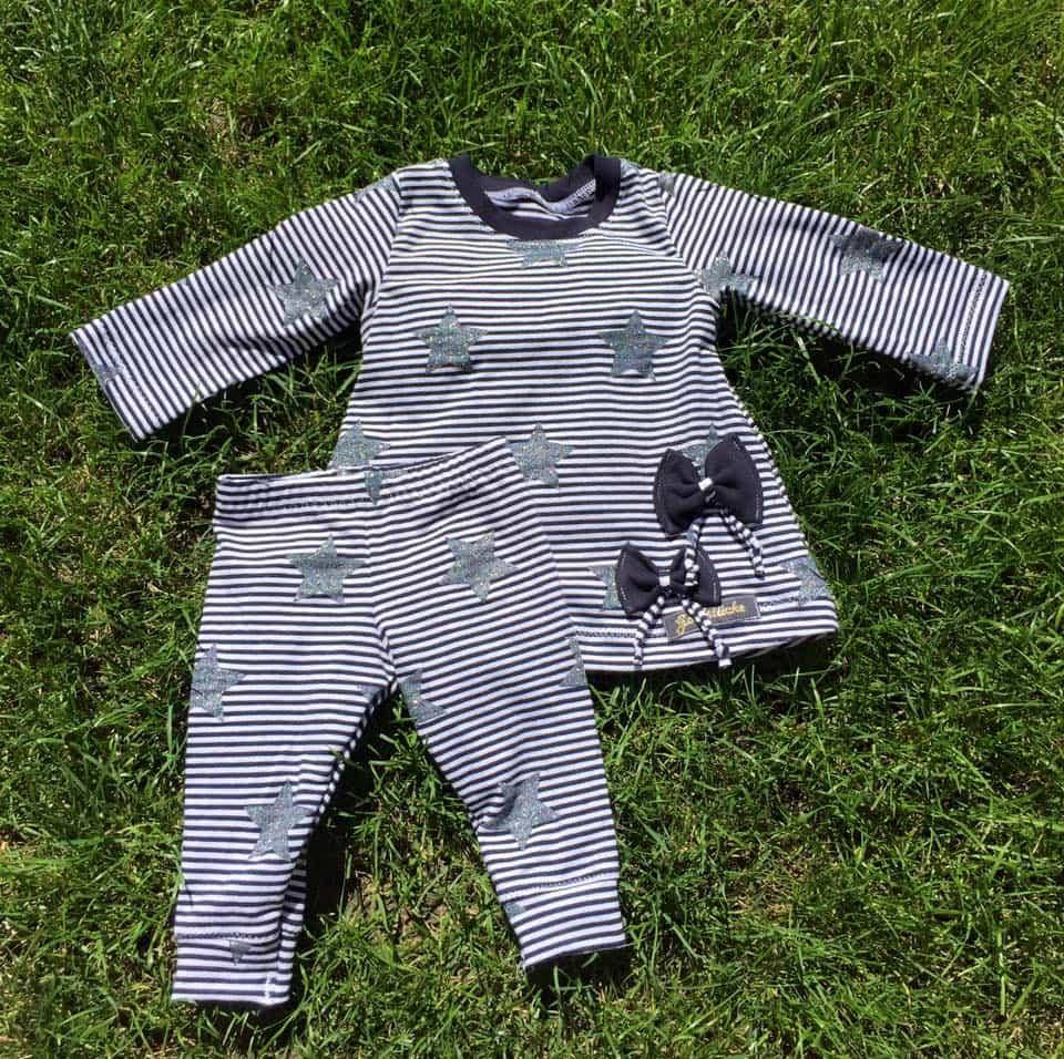 Babyoutfit Leggings und Tunika nähen