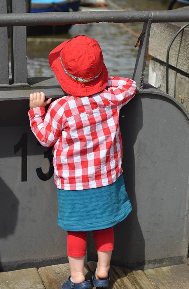 Baumwollbluse, Kinder-Hemd nähen, auch für Anfänger