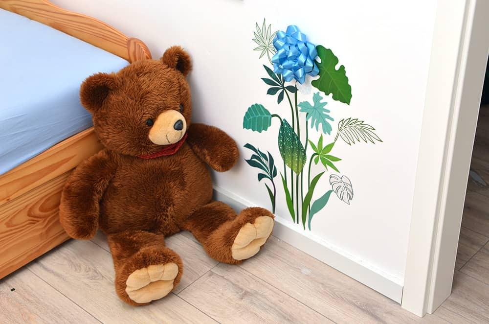 Wanddeko im Kinderzimmer