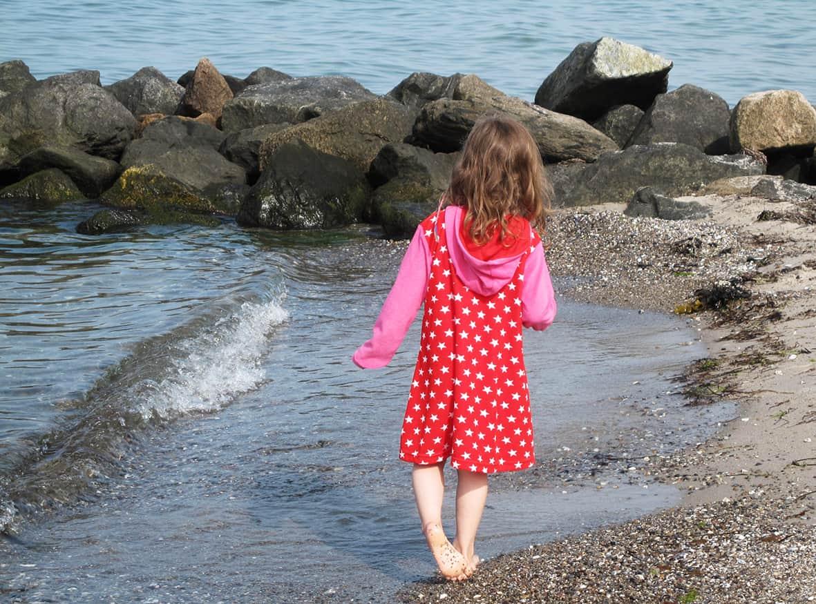 Kuschelkleid Badekleid Strandkleid