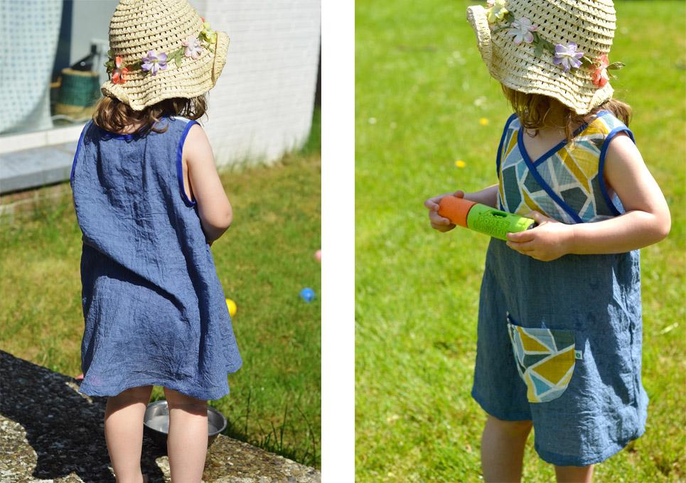 Lieblingskleidchen: Kinderkleid aus Musselin nähen