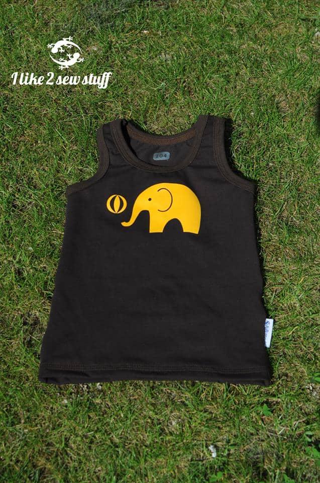 Erbsenprinzessin Plotterdatei Freebie Elefanten geplottet von I like to sew stuff