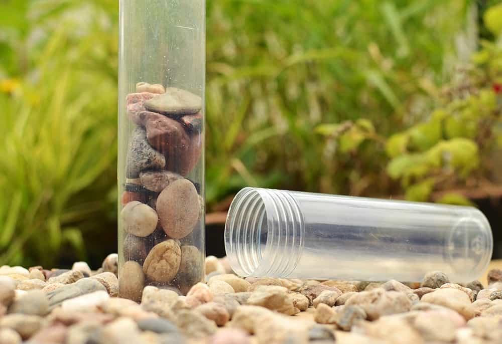 Versandrolle zum Steine sammeln