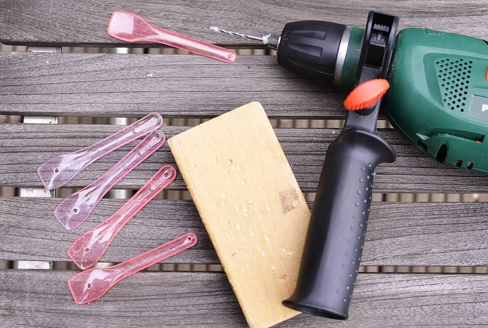 Basteln mit Eislöffeln Upcycling DIY