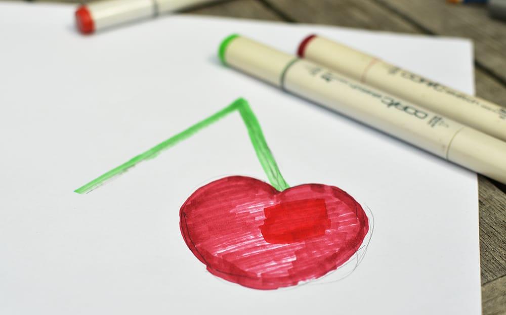 Vorlage zeichnen