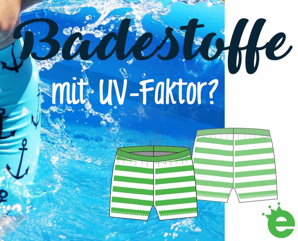 Badestoffe mit UV-Faktor