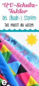 UV-Schutz-Faktor bei textilien