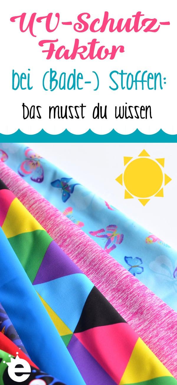 UV-Schutz-Faktor bei (Bade-)Stoffen: Hintergrundwissen und Tipps