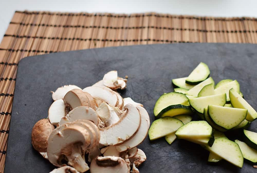 Zutaten Gemüsesuppe magenfreundlich, Schonkost