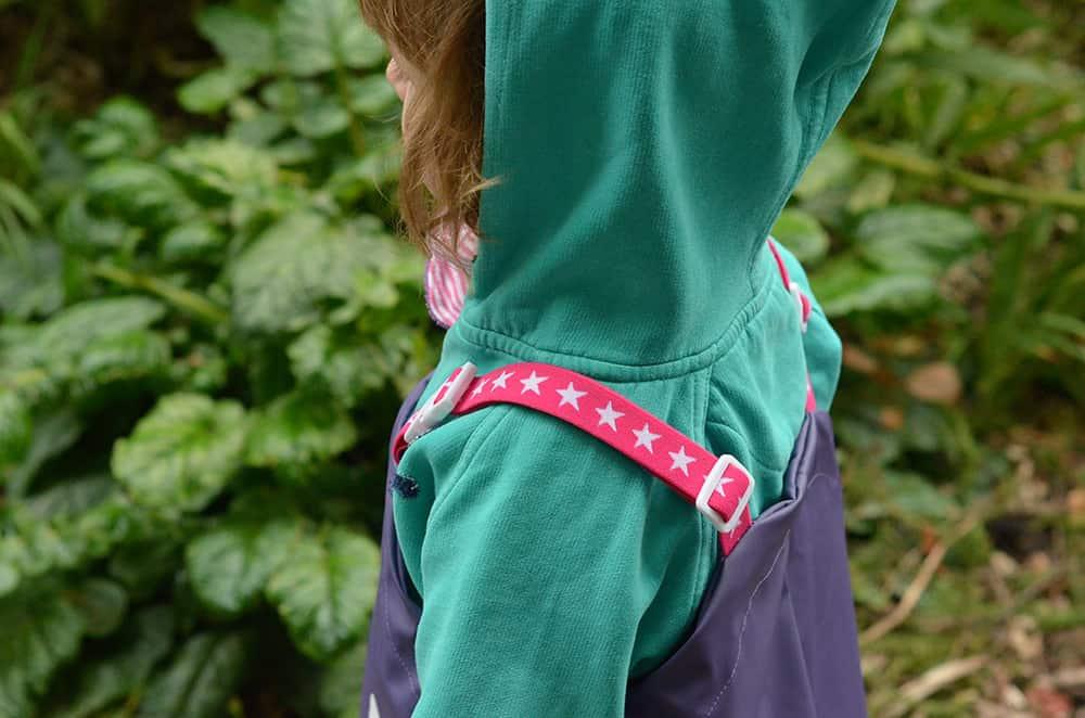 Sternchengummi für die Träger der Matsch- und Mehr-Hose