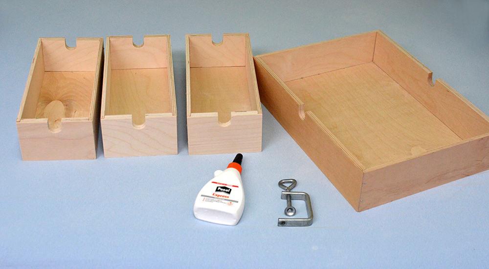 Schubladen von Ikea Fira