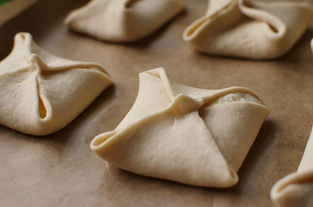 Schonkost-Rezept: Quarktaschen