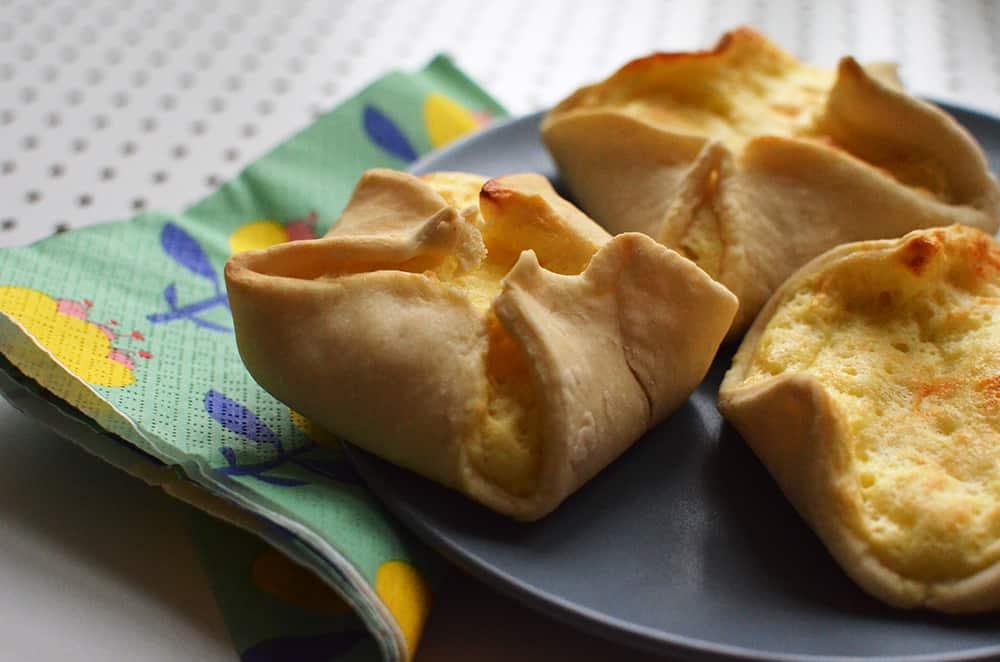 (fast) fett- und zuckerfreie Quarktaschen: Schonkost-Rezept zum Backen