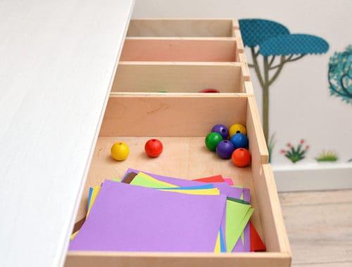 Schubkasten , Besteckkasten aus Einzelschubladen selber bauen
