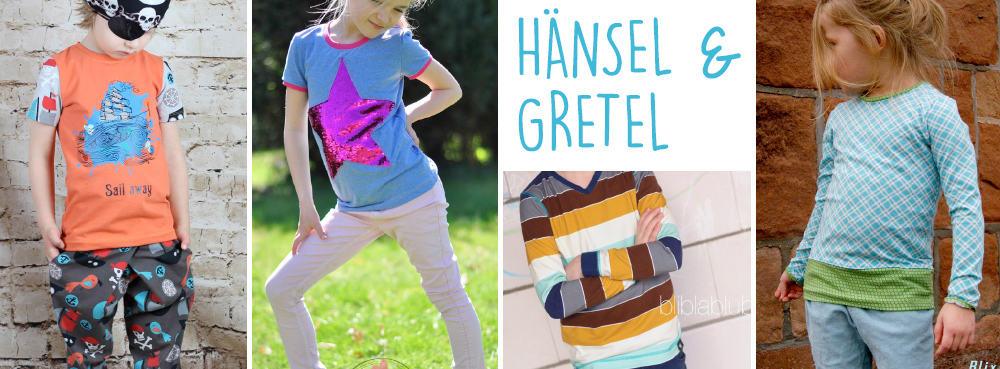 Hänsel & Gretel Slimfit-Schnittmuster für kids