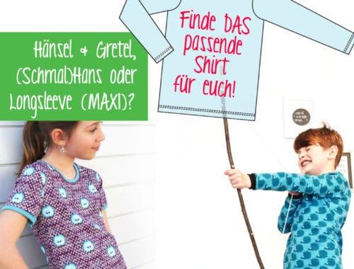 Erbsenprinzessin Kindershirts: Passformvergleich, Größenvergleich, Maßtabellen