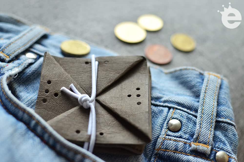 Falt-Geldbörse: Schnittmuster und Nähanleitung zum Selbermachen