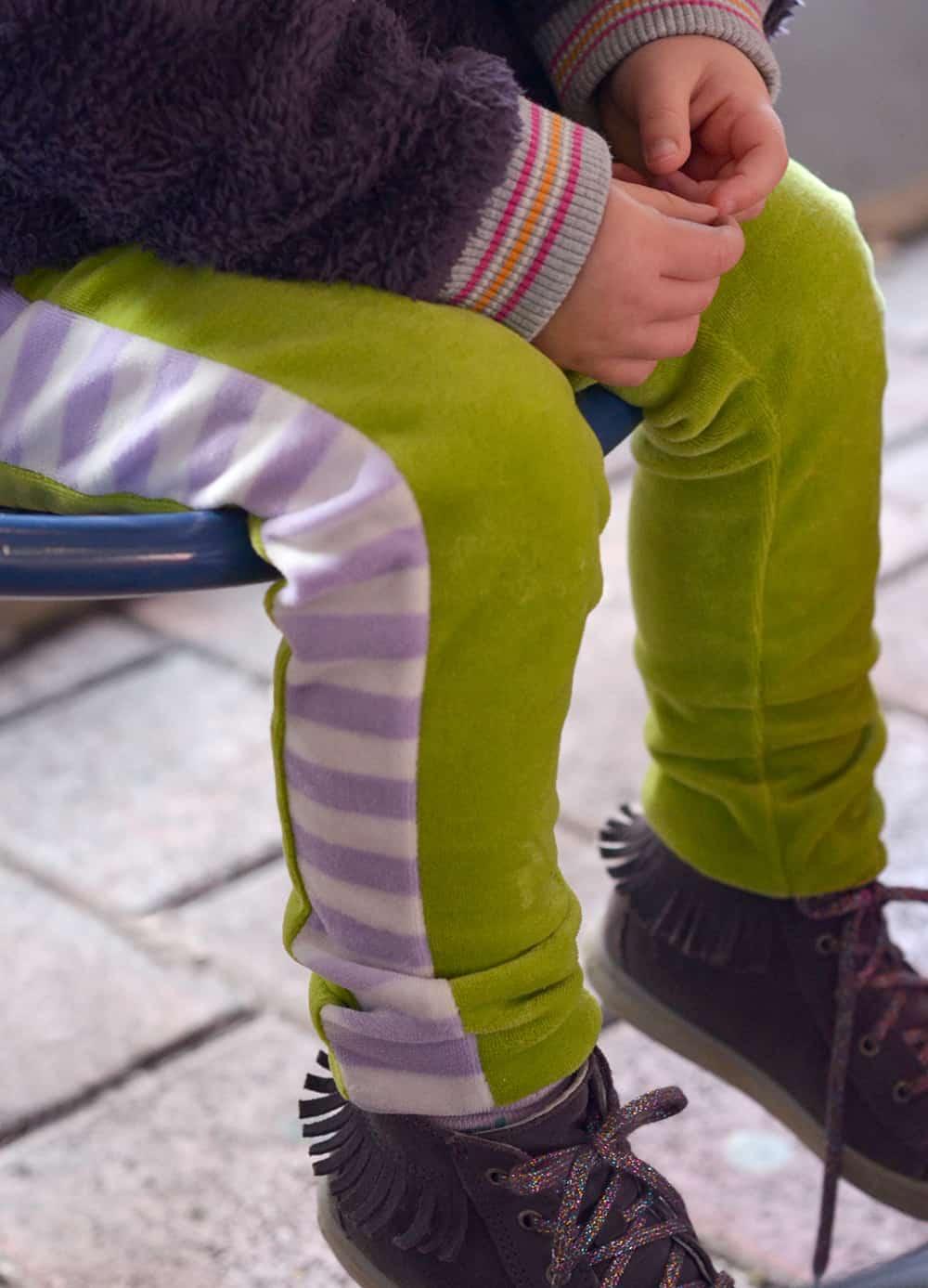 Leggingsschnittmuster: Hose nähen