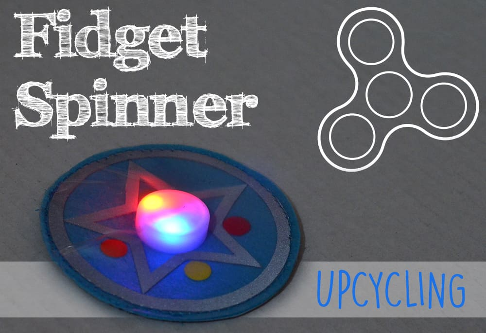 DIY: Fidget Spinner Upcycling-Idee