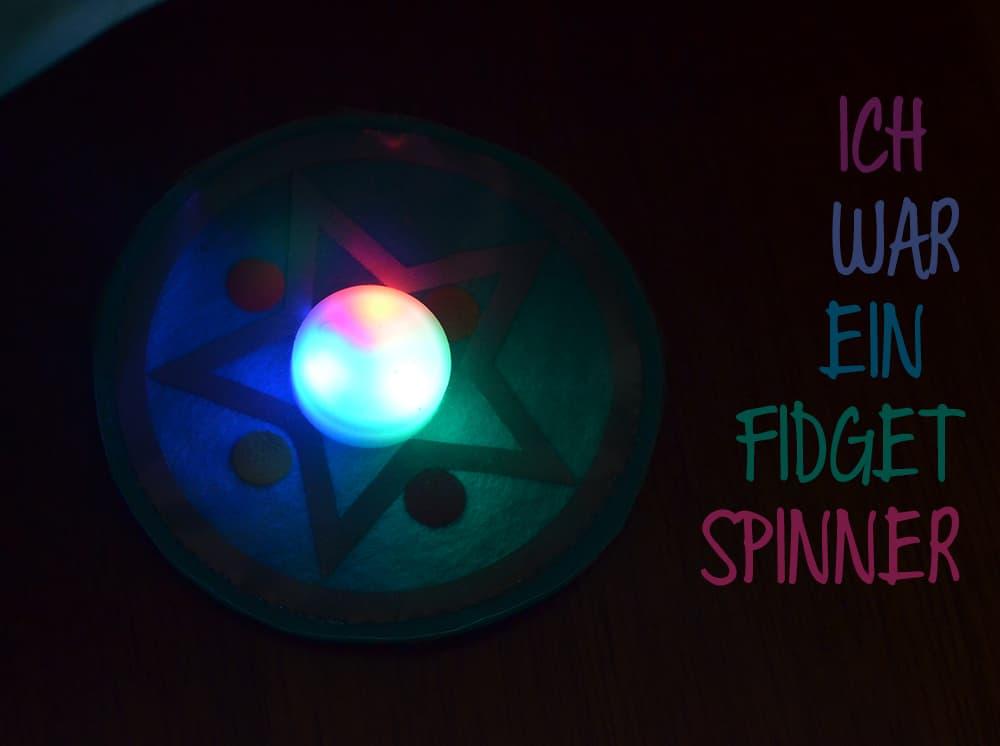 Blinkeklettie: ich war ein Fidgetspinner!