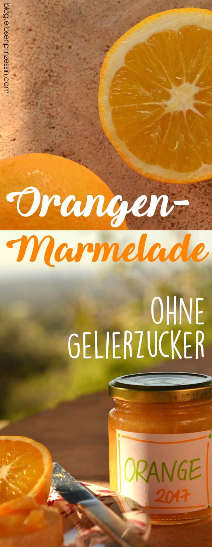 Orangenmarmelade: Rezept ohne Gelierzucker. So klappt das Marmeladekochen