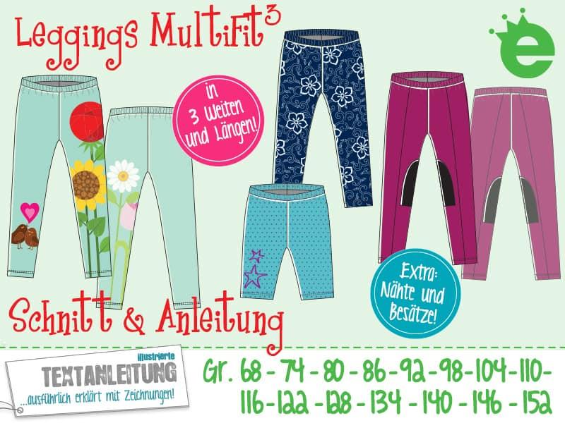 e-Book Kinderschnittmuster MultiFit Leggings