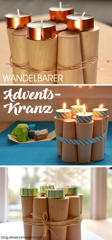 Adventskranz basteln: Verschiedene Dekoideen für den DIY-Kranz mit Kerzen