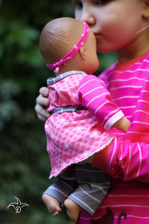 Puppenmode-Schnittmuster: Tunika downloaden bei Stoff & Liebe