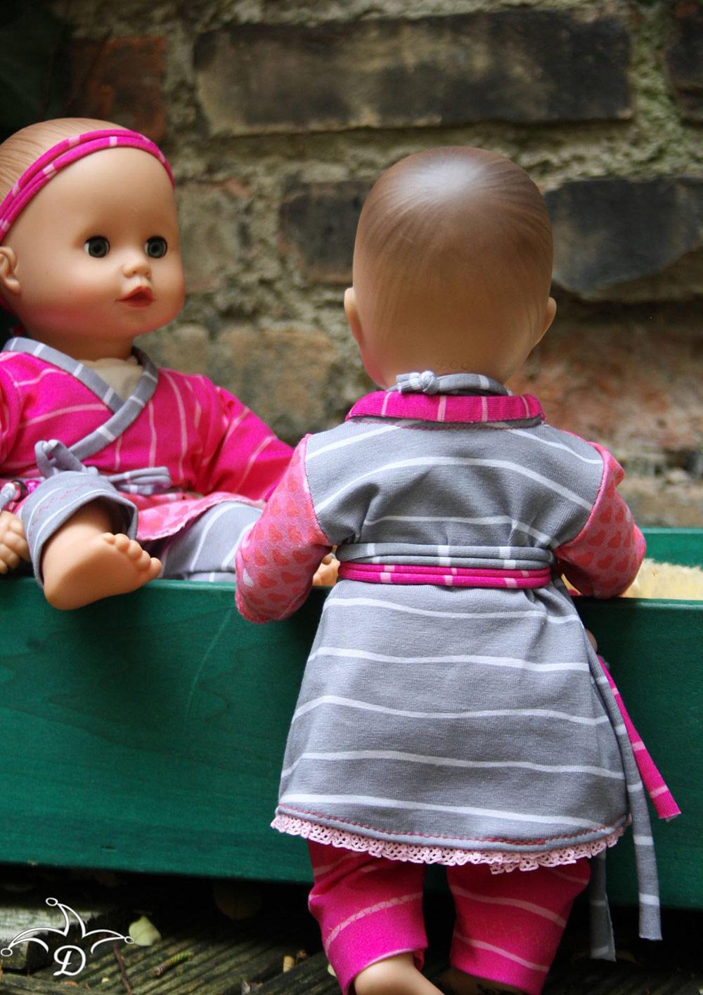 Oberteil für Puppe nähen: Schnittmuster gratis
