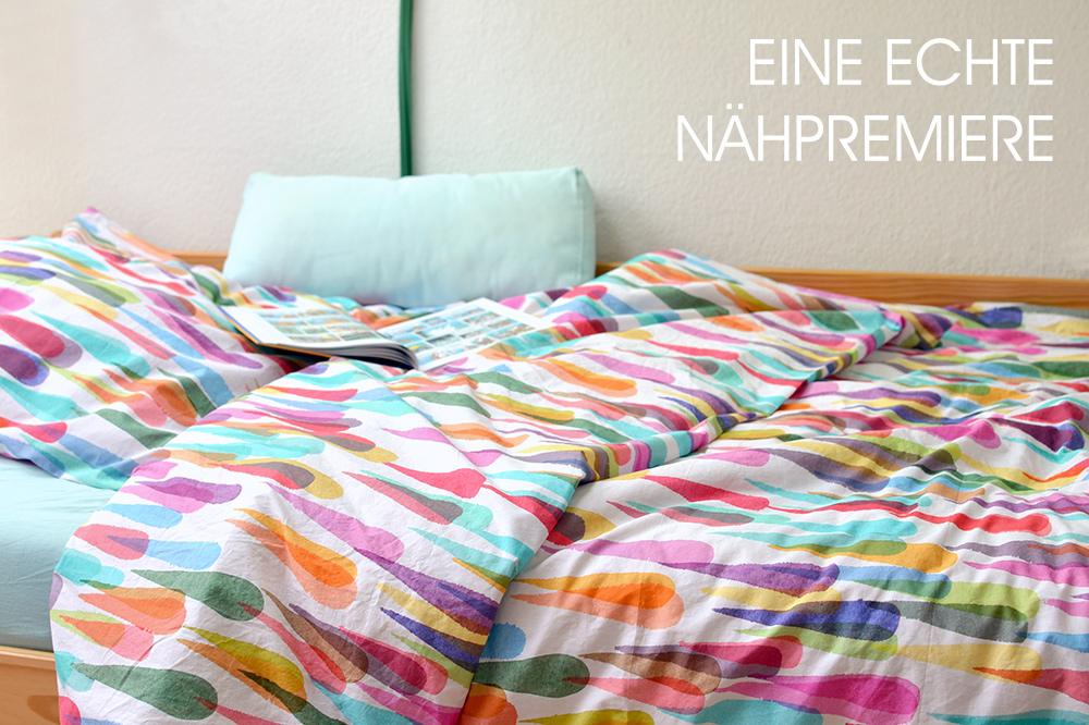 Bettwäsche nähen aus Baumwoll-Perkal von Stoff & Stil