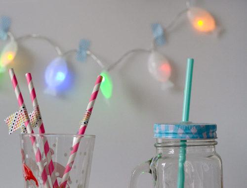 Party-Deko: Lichterkette selber basteln