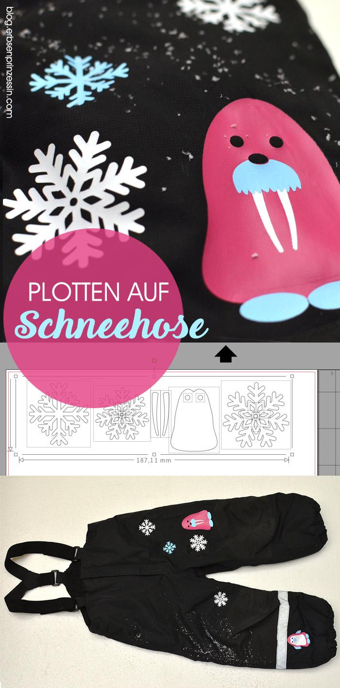 How-To: Plotten mit Flexfolie auf schwierigen Stoffen, wie z.B. Skihose, Schneehose, Winterjacke,…