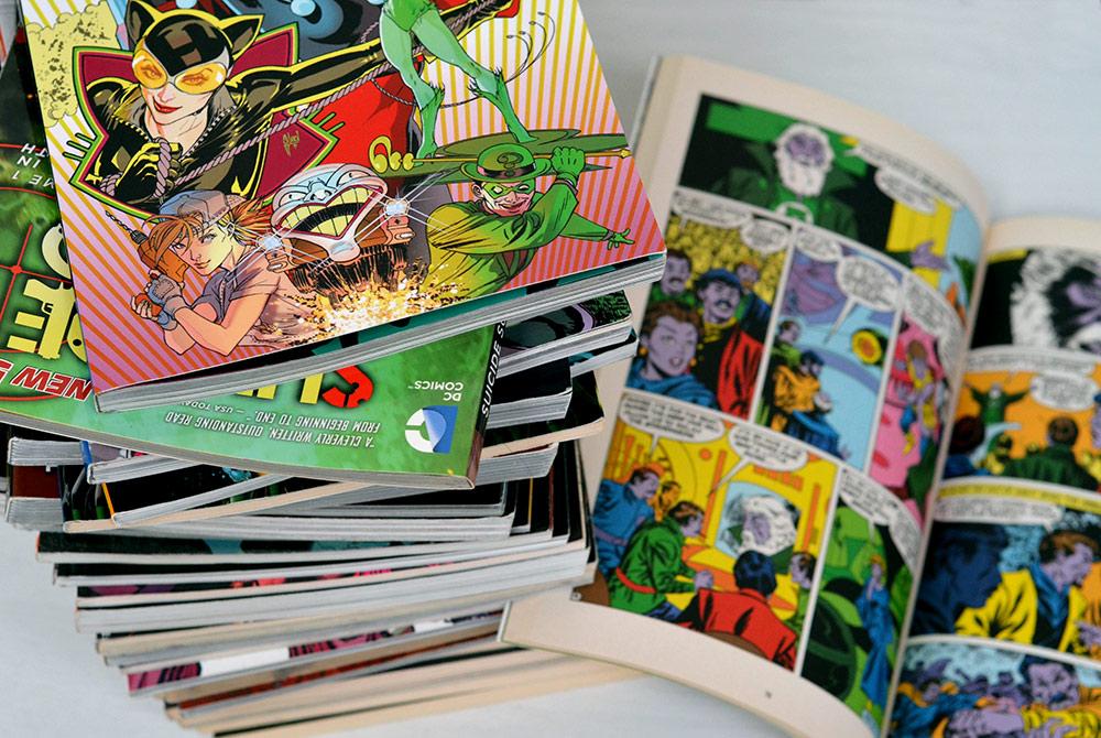 DC Comic-Sammlung