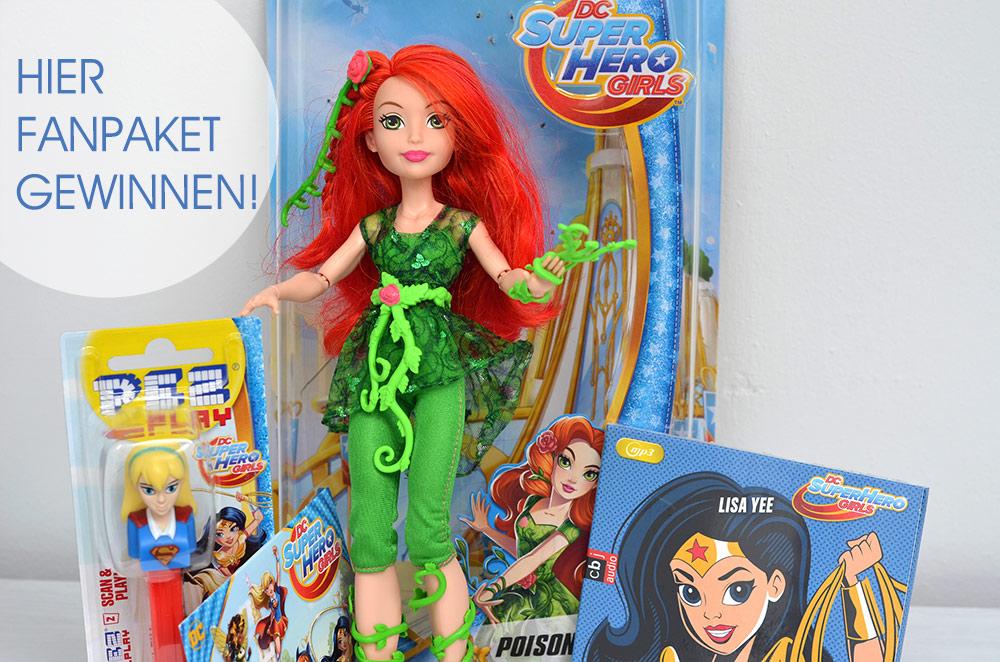 gewinne ein DC Super Hero girls fanpaket