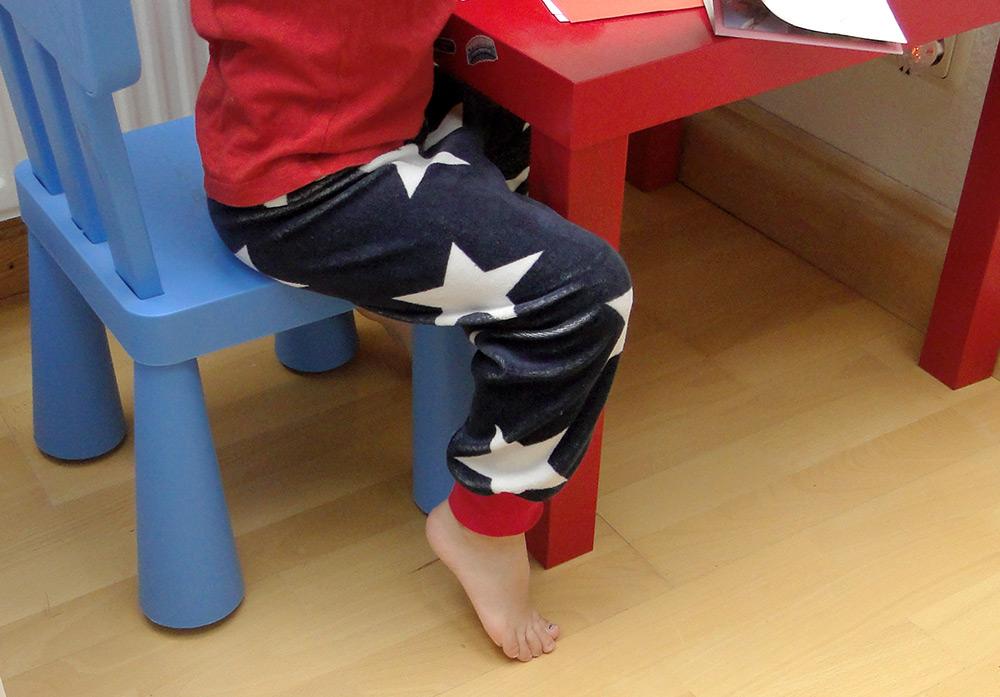 Bündchenhose als Schlafanzughose: Schnittmuster und Nähanleitung