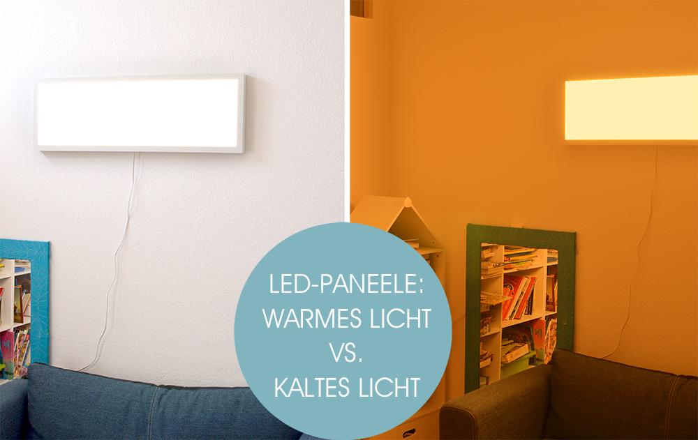 Ikea Floalt Lichtpaneel: Lichtfarben und Lichtstimmung im Vergleich