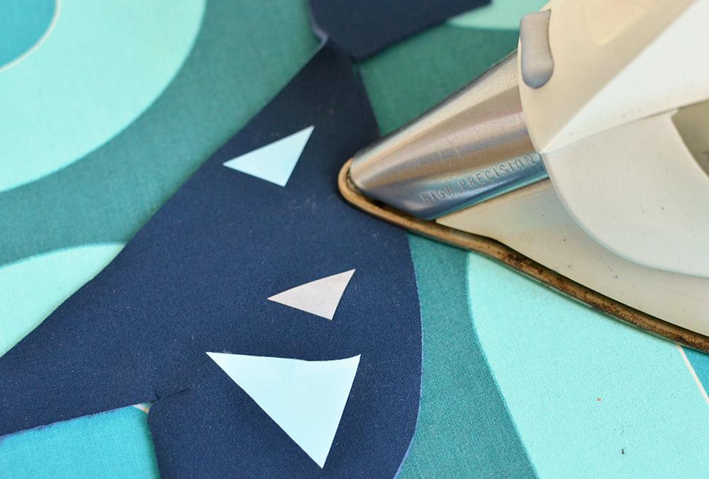 Plotterfolie, Spezial-Flexfolie auf Softshell bügeln