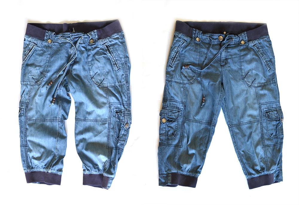 Jeans-Blau-Tücher: Farbauffrischung für alte Jeans