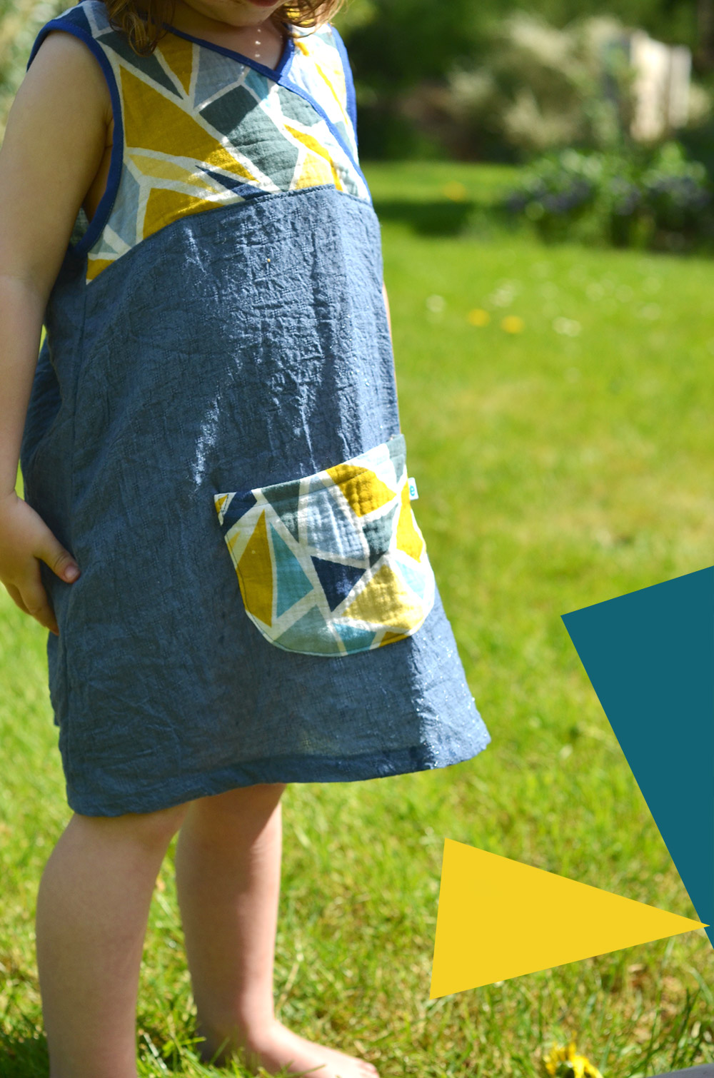 Schnittmuster Kinder-Hängerchen, Sommerkleid für Mädchen