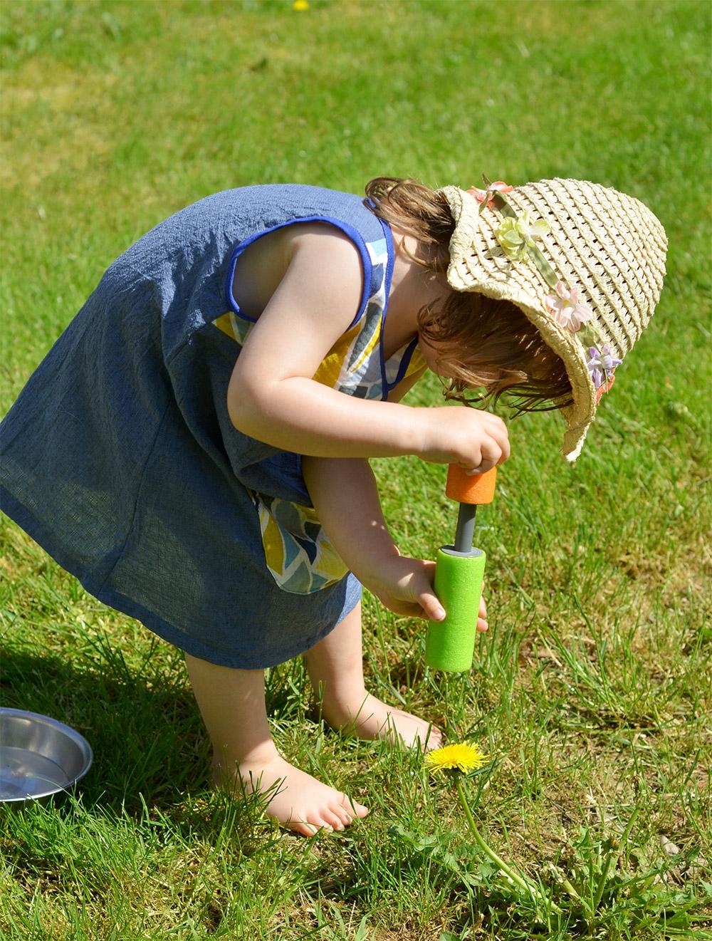 Lieblingskleidchen aus Musslin für kleine Mädchen