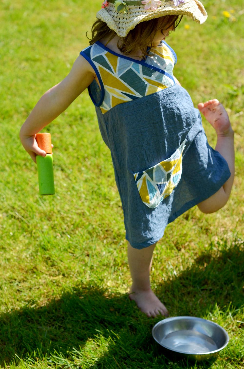 Lieblingskleidchen: Schnittmuster für Baumwolle, Kinderkleid