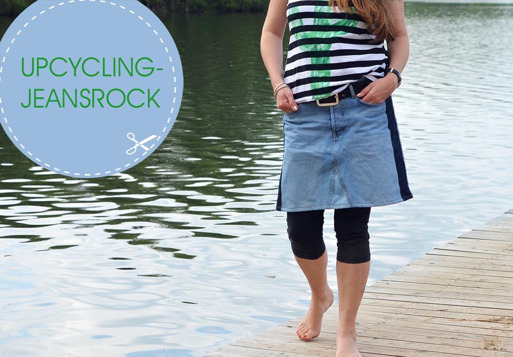Upcycling-Jeansrock: Nähanleitung