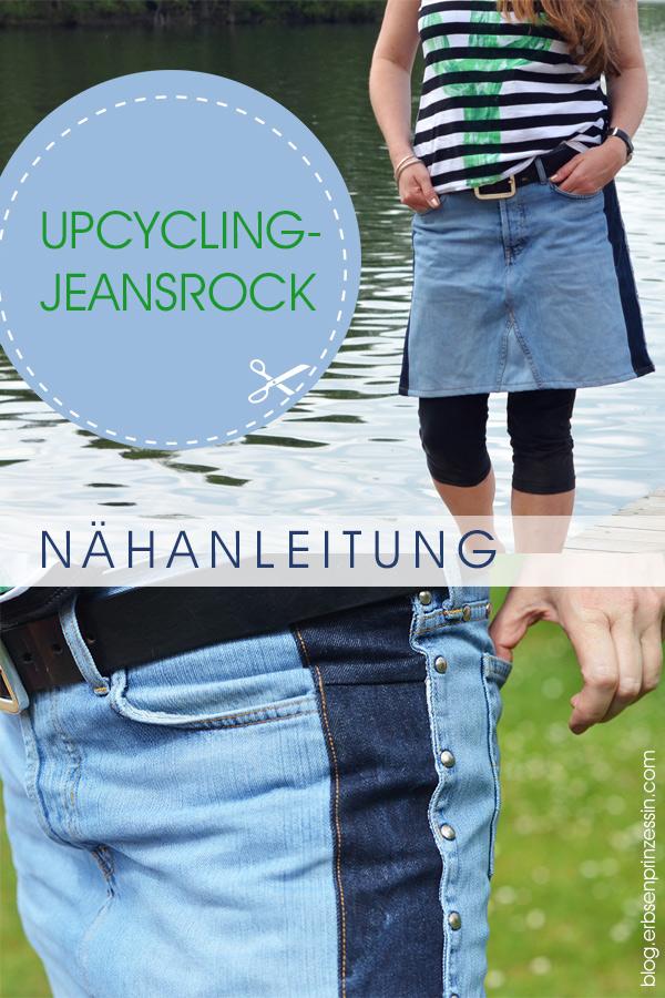 Upcycling-Jeansrock: Nähanleitung für einen Rock aus zu enger Jeans